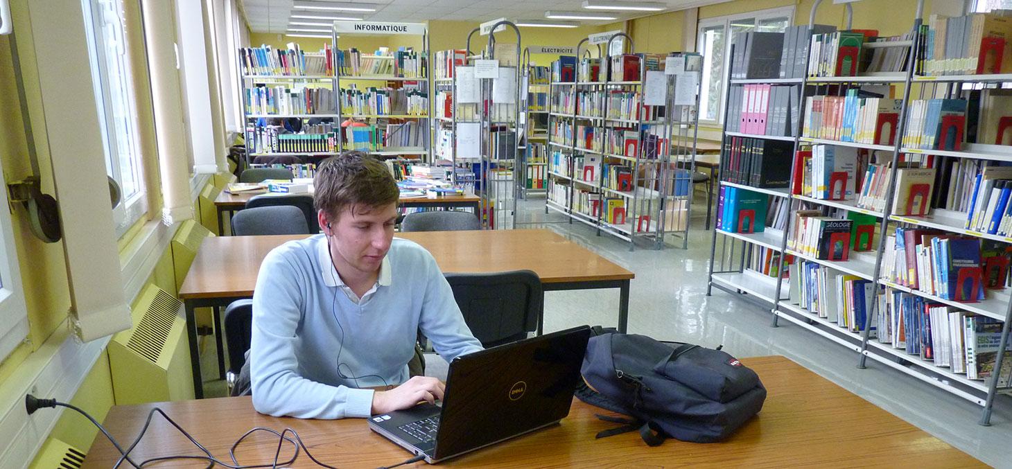 Bibliothèque Saint Martin D Uriage iut1 - université grenoble alpes - bibliothèque de saint