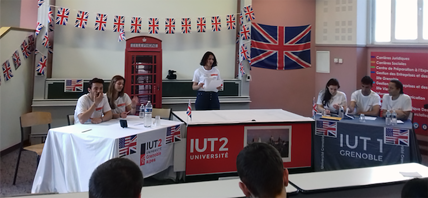 Grande finale du Debate Tournament 2019 IUT1 et IUT2